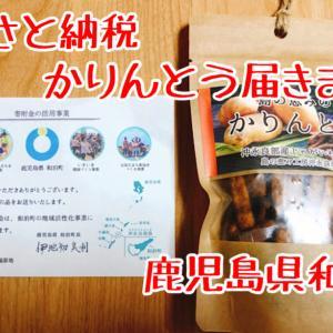【返礼品レポ#23】鹿児島県和泊町-島の恵みのかりんとう黒糖味-ふるさと納税レビュー
