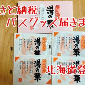 【返礼品レポ#25】北海道登別市-湯の華4個セット-ふるさと納税レビュー
