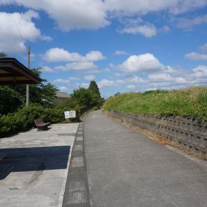 新潟交通廃線跡 遊歩道
