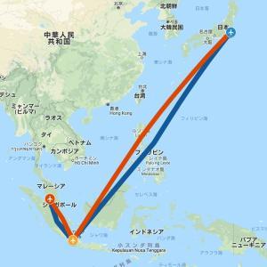旅1909 乗りヒコーキでKLMのアジア以遠権フライト 2泊4日4区間