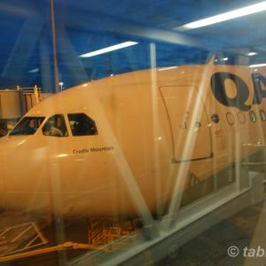 カンタス航空 QF148 オークランド→シドニー ビジネスクラス | QANTAS A330 Business Class Auckland to Sydney