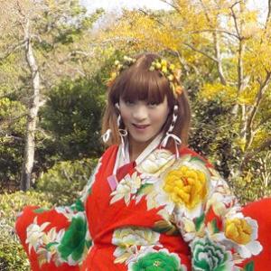 大阪万博記念公園を着物で散策~紅葉~