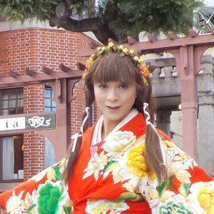 神戸異人館街を打掛の着物で散策