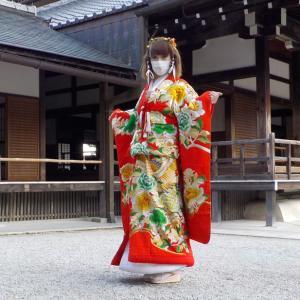 京都、嵐山、天龍寺に振袖を着て行って来ました!