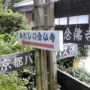 京都 化野念仏寺・千灯供養とあたご古道街道灯し(8月23・24日)