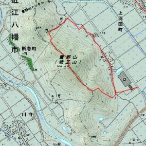 雪野山(308m)、SOTA: JA/SI-070