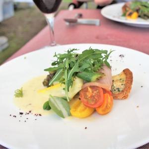climat(クリマ)×政田農園/森町/畑でレストラン!生産者とシェフの最強コラボが生み出す贅沢ロケーションランチ♪