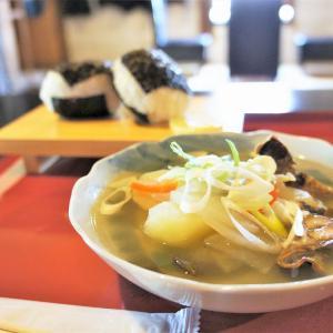 ヤマシメcafe/積丹町/旧鰊番屋でタイムスリップランチ♪歴史を感じながら郷土料理でほっこり