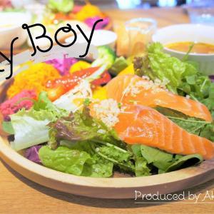シティボーイ/札幌市/農家の野菜でカスタマイズサラダ!男性もまんぷくになれる街中ヘルシーランチ