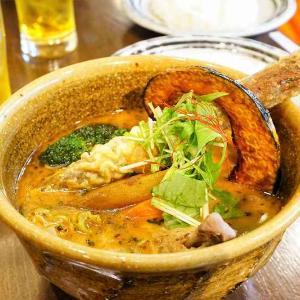 ソウルストア/札幌市/動物系と魚介系のWスープが味の決め手!ゴボウが旨いスープカレー
