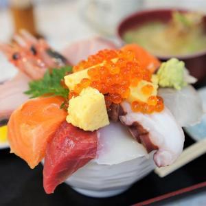 第一海鮮丸/札幌市/こんな分厚さ人生初!ネタのボリューム満点な海鮮丼ランチ