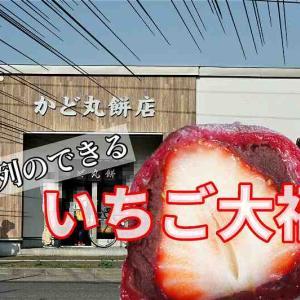 かど丸餅店/札幌市/連日行列ができる「いちご大福」!購入時の注意、販売時期など