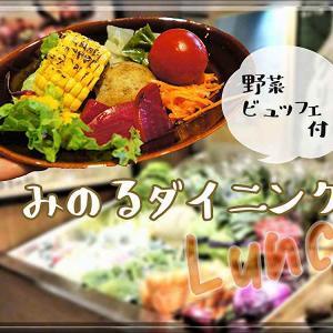 みのるダイニング/札幌市/北海道産の野菜が食べ放題!肉、魚セットのランチがおすすめ