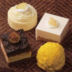 【六花亭おやつ屋さん】10月は秋の味覚ケーキ4種!今日から予約受付開始