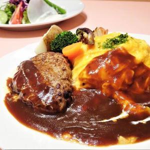 ビストロダイニング我が家/札幌市中心部/キラキラ肉汁ハンバーグ&オムライスにプロの技が光る!至福の口どけ♡