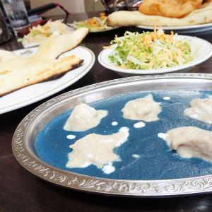 クリシュナ/北見市/青いカレー!クリオネナン!本場のシェフが作る本格インド料理はインスタ映え必至♪