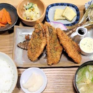 土鍋めし ひなた/札幌市/刺身にもできる鮮度のよいアジフライ!100%ゆめぴりかのごはんが美味しい贅沢定食♪