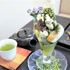 日本茶カフェ茶楽逢(サライ)/札幌市/製茶工場直営カフェで煎茶パフェ!名物「シメ茶葉」もおすすめです♪