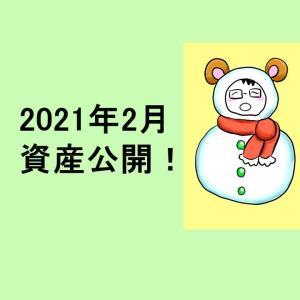 <資産公開>2021年2月現在の資産・持ち株・ポートフォリオ・実現損益を公開