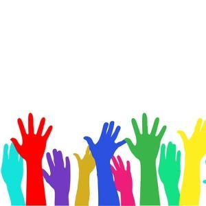 授業参観では全員手を上げる みんながみんな右手というわけではないけれど