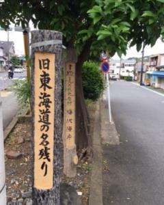 東海道④ 大磯宿〜小田原宿