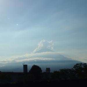 【夏の富士山】ようやく富士山の姿をみた