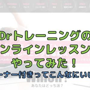 Dr.トレーニングでオンラインレッスンをやってみた!口コミ・評判は意外と・・・?