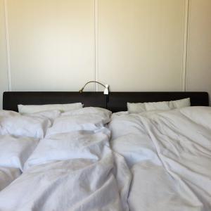 ベッドのボックスシーツやめました[家仕事の工数削減]