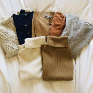 夏前に吟味する冬服購入リスト