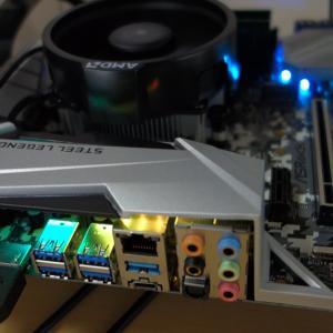【自作PC】デスクトップPC組み立て ~AMD RYZEN 5 2400G / ASRock B450M STEEL LEGEND PCを自作~