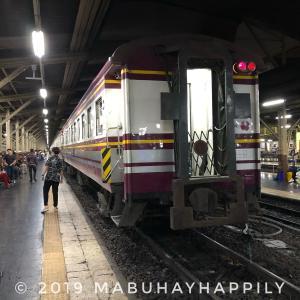 【東南アジアぶらり旅】タイ~マレーシア~シンガポール編(その6)バンコクから夜行列車でピッサヌークそしてスコータイへと移動!