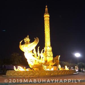 【東南アジアぶらり旅】タイ東部の中心都市ウボン・ラーチャターニーを散策し感じたこと!ver.2020