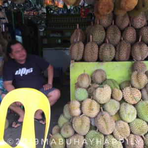 【フィリピン旅行記】全国からドリアン好きが集まるダバオのマグセイセイ公園通りフルーツショップ!ver,2020