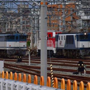 DD200 5号機ムド輸送 吹田タ到着の巻(R1.1.25)