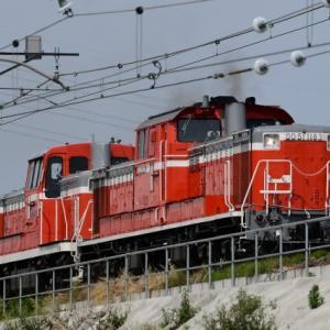 国鉄色同士!DD51牽引によるDE10配給列車撮影の巻(R2.5.25)