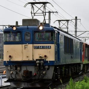 JR貨物 RED BEAR207号機 稲沢への甲種輸送を撮影(R2.6.19)