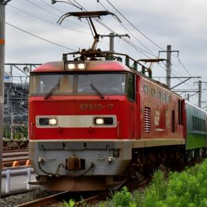 鮮やかな色のキハ261系5000番代 はまなす編成甲種輸送撮影の巻(R2.7.8)