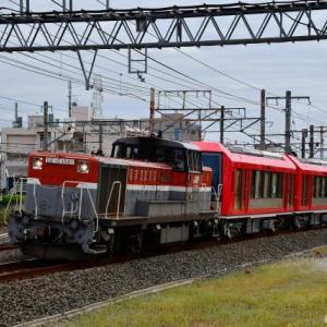 箱根登山鉄道3100形(アレグラ号)甲種輸送 撮影の巻(R2.10.16)