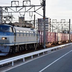 復活!運用復帰したEF66 124号機が牽引する84レ貨物列車 撮影の巻(R3.8.26)