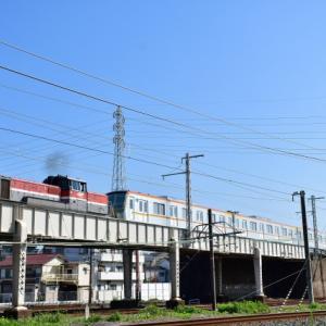 城東貨物線と東海道本線クロスで東京メトロ17000系甲種輸送 撮影の巻(R3.8.27)