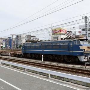 85レ貨物列車の運用にEF66 27号機が就くと予想して撮影に行ってきました(R3.9.13)