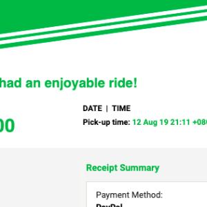 配車アプリ Grabをマレーシアで使ってみた感想