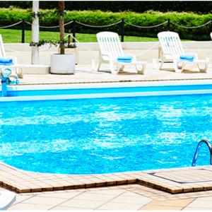 2020年夏休み:京王プラザホテルでプール遊び
