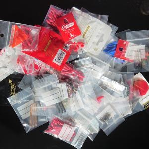ダーツグッズの収納にジップロック風チャック付きビニール袋が使える!