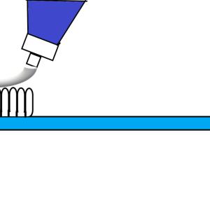 アメリカの歯が白くなる歯磨き粉