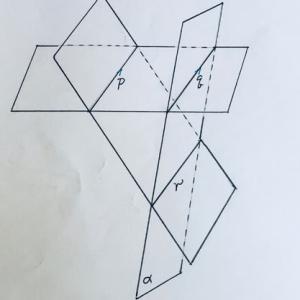 空間図形の基本7平行3