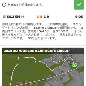 三味線レーシング zwiftミートアップ(土曜日)4/25