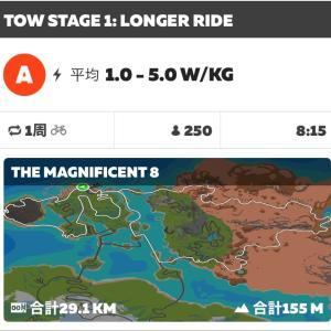 4/24  zwiftサイクリング 4イベント