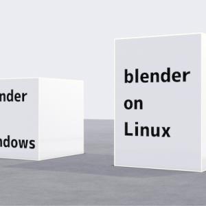 blenderをガチでやりたいけどOSは何がいいの?どういうふうに環境を作る?