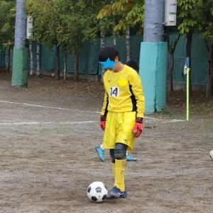 次男のサッカー公式戦 最終戦